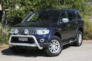 2011 Mitsubishi Challenger PB (KH) MY12 XLS Blue 5 Speed Sports Automatic Wagon Underwood Logan Area Preview
