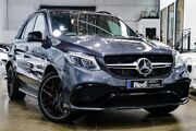 2015 Mercedes-Benz GLE63 W166 AMG SPEEDSHIFT PLUS 4MATIC S Grey 7 Speed Sports Automatic Dual Clutch Port Melbourne Port Phillip Preview