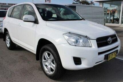 2012 Toyota RAV4 ACA38R CV (2WD) White 4 Speed Automatic Wagon Cardiff Lake Macquarie Area Preview