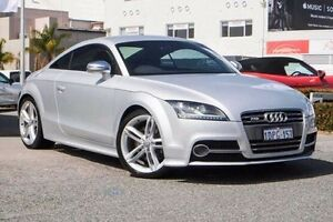 2011 Audi TT 8J MY12 S S tronic quattro Silver 6 Speed Sports Automatic Dual Clutch Coupe Nedlands Nedlands Area Preview