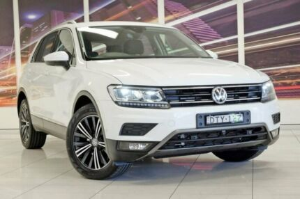 2017 Volkswagen Tiguan 5N MY18 110TDI DSG 4MOTION Adventure White 7 Speed Blacktown Blacktown Area Preview