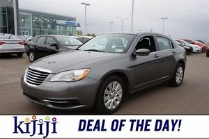 2013 Chrysler 200 LX Bluetooth,  A/C,