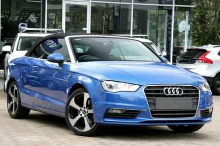 2014 Audi A3 8V 1.8 TFSI Ambition Blue 7 Speed Automatic Cabriolet Lindfield Ku-ring-gai Area Preview