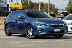 2018 Subaru Impreza G5 MY18 2.0i Premium CVT AWD Blue 7 Speed Constant Variable Hatchback Greenfields Mandurah Area Preview