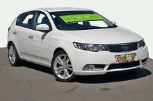 2013 Kia Cerato  White Sports Automatic Hatchback Tweed Heads 2485 Tweed Heads Area Preview