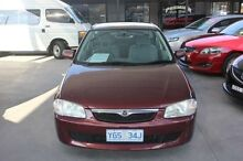 1999 Mazda 323 Protege Maroon 4 Speed Automatic Sedan Mitchell Gungahlin Area Preview