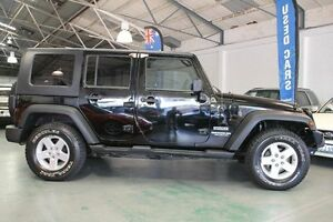 2008 Jeep Wrangler Unlimited JK MY08 Sport (4x4) 6 Speed Manual Softtop Victoria Park Victoria Park Area Preview