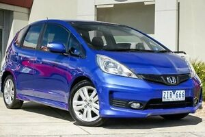 2012 Honda Jazz GE MY12 Vibe-S Blue 5 Speed Automatic Hatchback Wendouree Ballarat City Preview