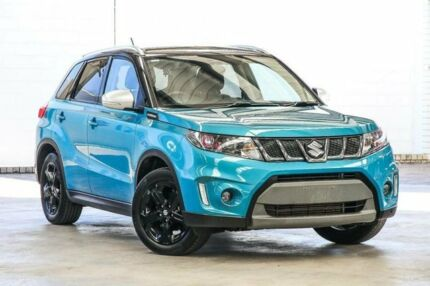 2017 Suzuki Vitara LY S Turbo (2WD) Green 6 Speed Automatic Wagon Cannington Canning Area Preview