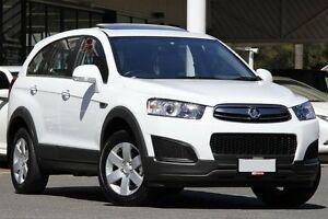2014 Holden Captiva CG MY14 7 LS White 6 Speed Sports Automatic Wagon Christies Beach Morphett Vale Area Preview