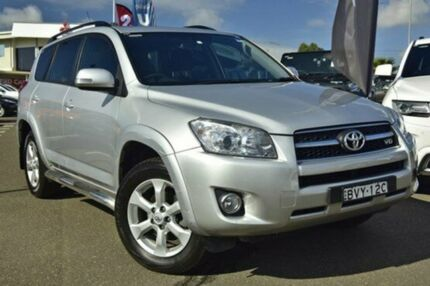 2011 Toyota RAV4 GSA33R MY11 SX6 Silver 5 Speed Automatic Wagon Castle Hill The Hills District Preview