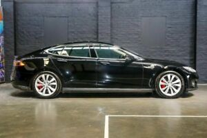 2014 Tesla Model S P85 Sportback Black 1 Speed Reduction Gear Hatchback