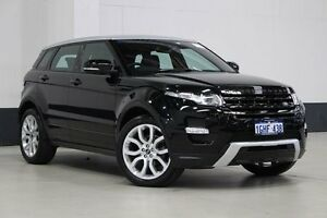 2013 Land Rover Evoque LV MY13 SI4 Dynamic Black 6 Speed Automatic Wagon Bentley Canning Area Preview