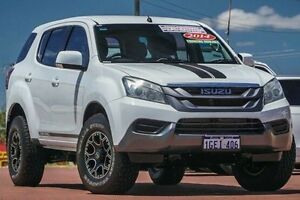 2014 Isuzu MU-X MY14 LS-M Rev-Tronic White 5 Speed Sports Automatic Wagon Spearwood Cockburn Area Preview