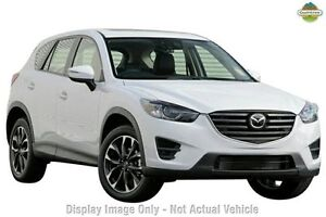 2016 Mazda CX-5 MY15 Akera (4x4) Crystal White Pearl 6 Speed Automatic Wagon Gymea Sutherland Area Preview