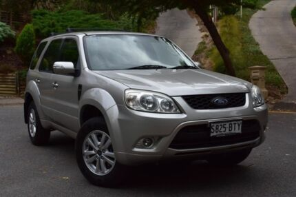 2010 Ford Escape ZD MY10 Silver 4 Speed Automatic Wagon St Marys Mitcham Area Preview