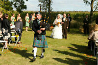 Bagpiper for Hire- Weddings, Funerals and Special Events