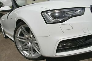 2014 Audi A5 8T MY14 3.0 TDI Quattro White 7 Speed Automatic Cabriolet Petersham Marrickville Area Preview