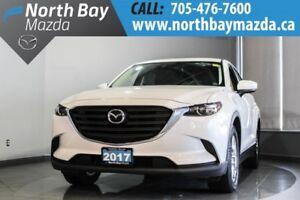 2017 Mazda CX-9 GS Lease Return with Heated Seats, Tri-Zone Clim