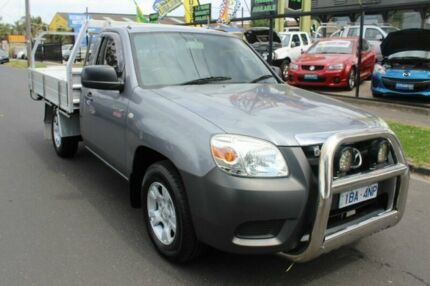 2011 Mazda BT-50 UNY0W4 DX Grey 5 Speed Manual Cab Chassis West Footscray Maribyrnong Area Preview