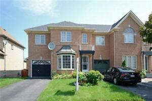 Immaculate & Well Kept Semi Detached Brick Home Of Brampton!