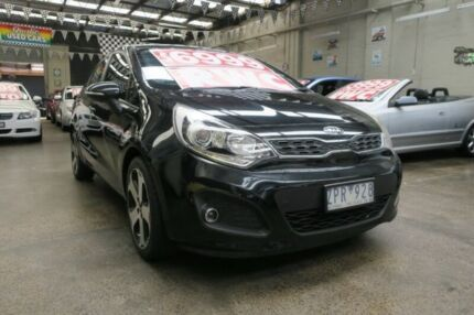 2012 Kia Rio UB SLi 6 Speed Manual Hatchback Mordialloc Kingston Area Preview