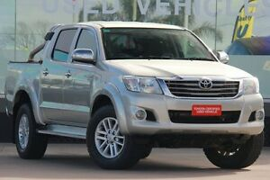 2013 Toyota Hilux GGN25R MY12 SR5 (4x4) Sterling Silver 5 Speed Automatic Dual Cab Pick-up Old Guildford Fairfield Area Preview