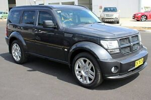 2010 Dodge Nitro KA MY11 SXT Black 4 Speed Automatic Wagon Maryville Newcastle Area Preview
