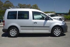 2010 Volkswagen Caddy 2KN MY11 TDI250 SWB Reflex Silver 5 Speed Manual Van Acacia Ridge Brisbane South West Preview