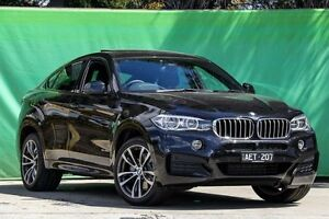 2015 BMW X6 F16 xDrive40d Coupe Steptronic Black 8 Speed Sports Automatic Wagon Ringwood East Maroondah Area Preview