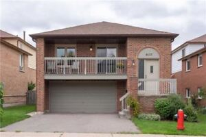 Mississauga 4 Bed 2 Bath Detached Home Rathburn & Perivale