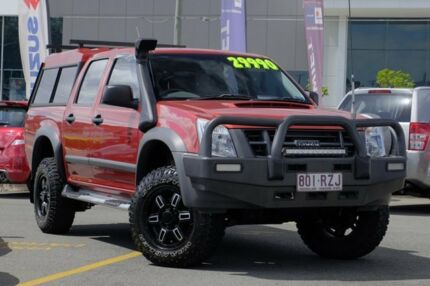 2011 Isuzu D-MAX MY11 SX Red 4 Speed Automatic Utility