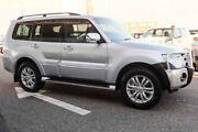 2014 Mitsubishi Pajero NW MY14 Exceed LWB (4x4) Silver 5 Speed Auto Sports Mode Wagon Wangara Wanneroo Area Preview