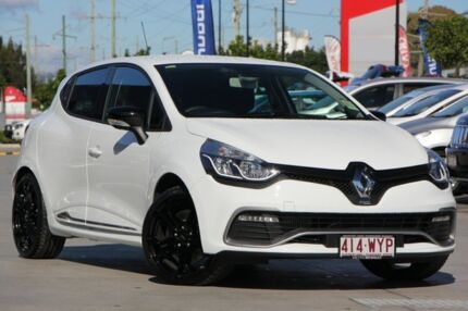 2016 Renault Clio IV B98 R.S. 200 EDC Cup White 6 Speed Sports Automatic Dual Clutch Hatchback