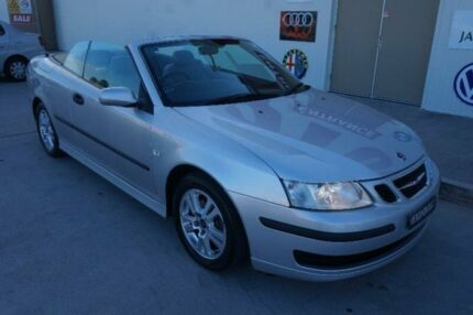 2005 Saab 9-3 442 MY2004 Aero Silver 5 Speed Sports Automatic Convertible Elderslie Camden Area Preview