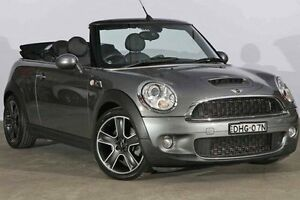 2009 Mini Cabrio R57 MY09 Cooper S Steptronic Dark Silver 6 Speed Sports Automatic Convertible Alexandria Inner Sydney Preview