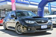2012 Subaru Impreza G3 MY13 WRX STi AWD Spec R Crystal Black 6 Speed Manual Sedan Willagee Melville Area Preview