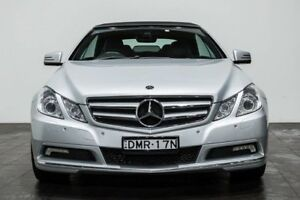 2010 Mercedes-Benz E250 CGI A207 Elegance Silver 5 Speed Sports Automatic Cabriolet