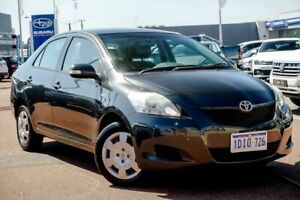 2008 Toyota Yaris NCP93R YRS Grey 4 Speed Automatic Sedan Osborne Park Stirling Area Preview