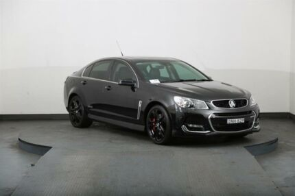 2016 Holden Commodore VF II SS-V Redline Black 6 Speed Automatic Sedan