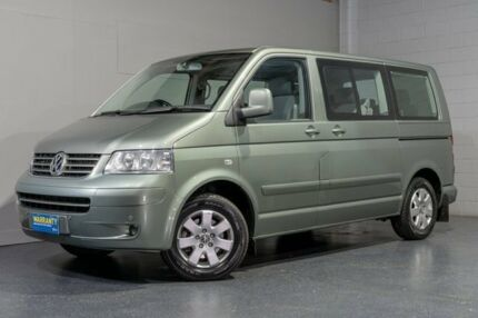 2006 Volkswagen Multivan T5 Comfortline Green 6 Speed Tiptronic Van Woodridge Logan Area Preview