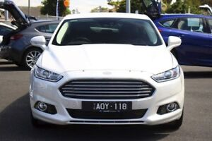 2016 Ford Mondeo MD Trend SelectShift White Platinum Tri-Coat 6 Speed Sports Automatic Hatchback