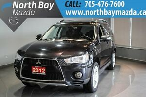 2012 Mitsubishi Outlander XLS Navigation + Leather Interior + Sa