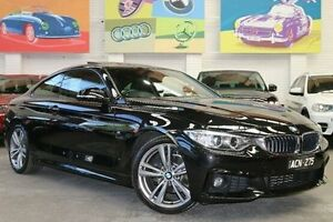 2014 BMW 420d F32 M Sport Black 8 Speed Sports Automatic Coupe Southbank Melbourne City Preview