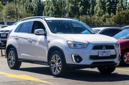 2015 Mitsubishi ASX XB MY15.5 LS 2WD White 6 Speed Constant Variable Wagon Ringwood East Maroondah Area Preview