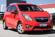 2014 Holden Barina Spark MJ MY14 CD Red 4 Speed Automatic Hatchback East Rockingham Rockingham Area Preview