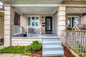 Beautifully Renovated Semi-Detached Home In The Danforth!