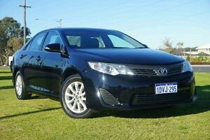 2012 Toyota Camry ASV50R Altise Black 6 Speed Sports Automatic Sedan Wangara Wanneroo Area Preview