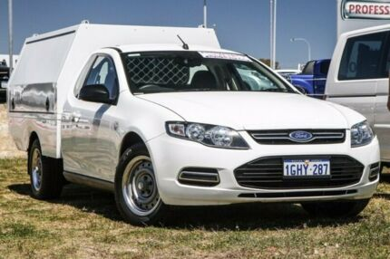 2013 Ford Falcon FG MkII Super Cab White 6 Speed Sports Automatic Cab Chassis