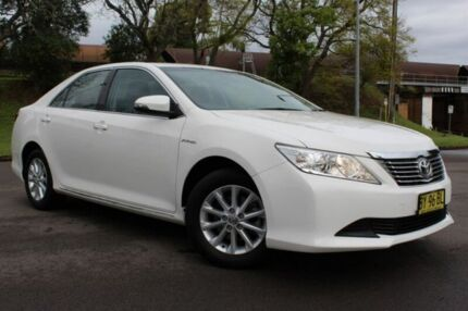 2014 Toyota Aurion GSV50R AT-X White 6 Speed Sports Automatic Sedan East Maitland Maitland Area Preview